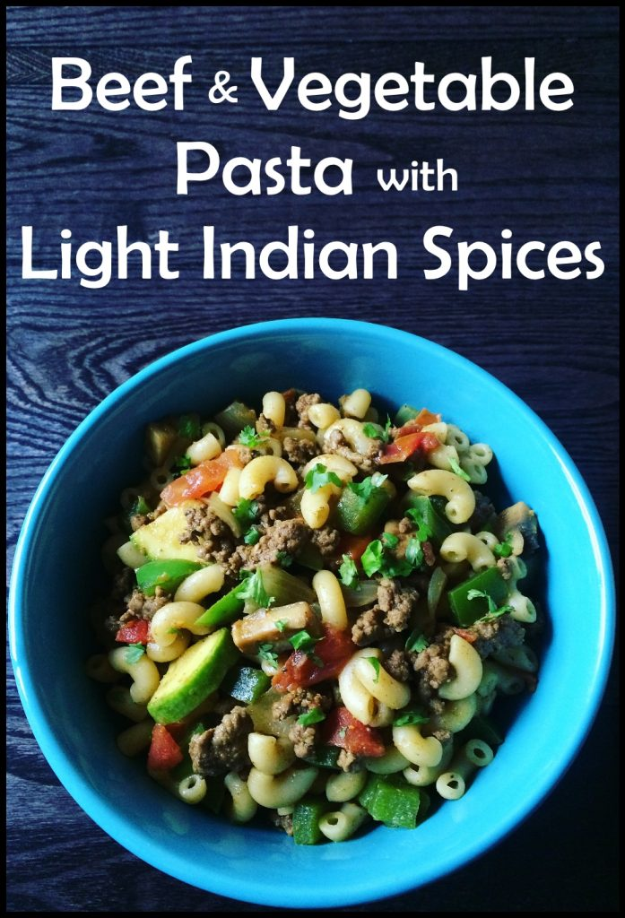 Beef and vegetable pasta with light indian spices the house of yum beef and vegetable pasta with light indian spices forumfinder Image collections